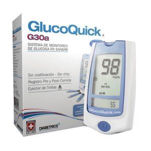 Glucómetro GlucoQuick G30a
