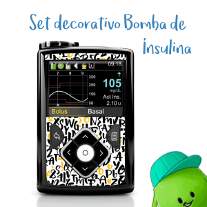 Set Decorativo para Bomba de Insulina Minimed 640 y 670
