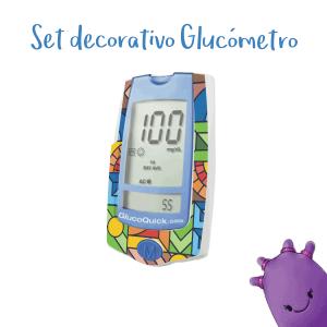 Set Decorativo para Glucómetro GlucoQuick G30a