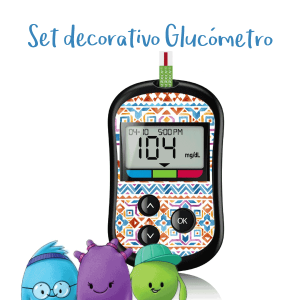 Set Decorativo para Glucómetro One Touch Select Plus