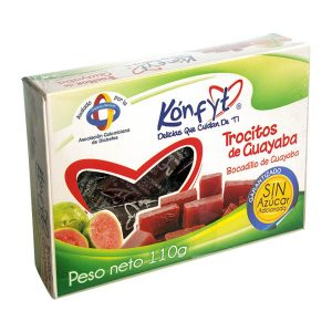 Trocitos de Guayaba Konfyt caja x 110grs
