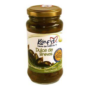 Dulce de Brevas Konfyt Frasco x 250 y 500 g