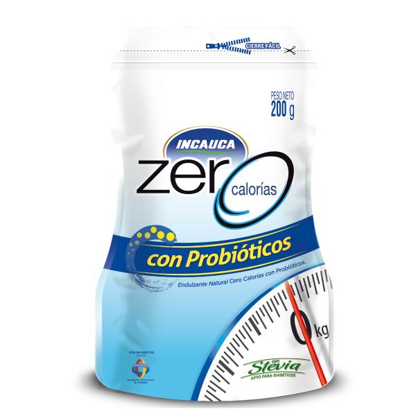INCAUCA ZERO PROBIOTICOS DOYPACK 200GR
