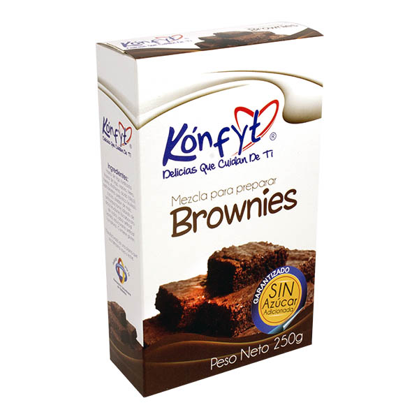 Brownies Konfyt Caja x 250grs