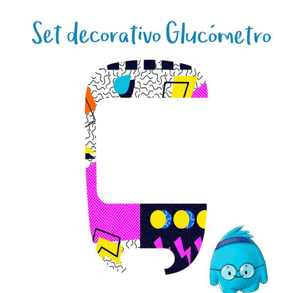 Set Decorativo para Glucómetro Accu-Check Instant