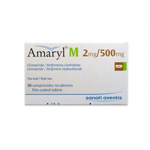 Amaryl M 2/500 x 30 TAB