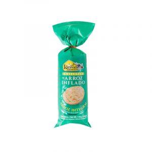 Galletas de arroz inflado