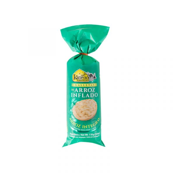 Galletas de arroz inflado