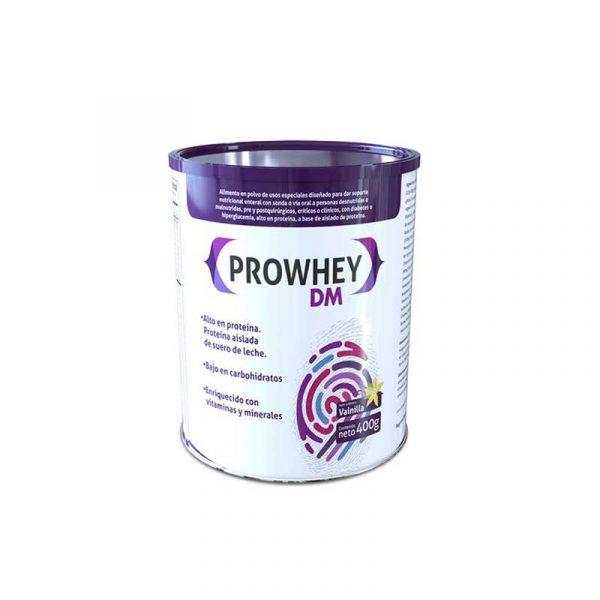 Prowhey dm lata tamaño 400-850g