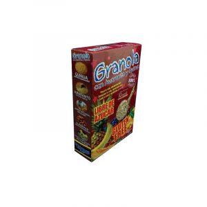 Granola 250gr con amaranto y quinua