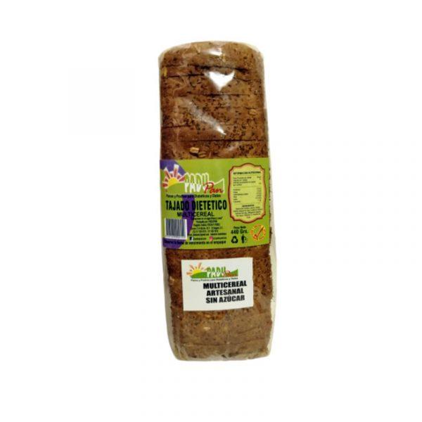 Pan tajado multicereal por 450 g