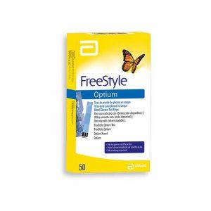 Tiras freeStyle optium neo X 50 unidades